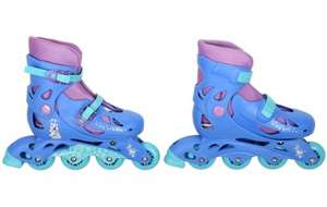 BE QUICK...Disney Frozen Inline Skates - 13J up to a 3 - NOW £3.00 CLICK & COLLECT HALFORDS
