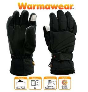 workawear heated dual fuel gloves 9.99 PLUS 4.99 DELIVRY @ Primrose