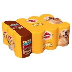 24 tins of Pedigree Chum at ASDA for £9.00
