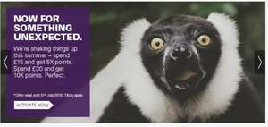 5 X Nectar points on £15 or 10 X on £30 + on EBay