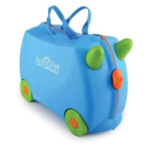Trunki Ride-On-Suitcase - Terrance Blue now £20.98 delivered using code at Kiddicare