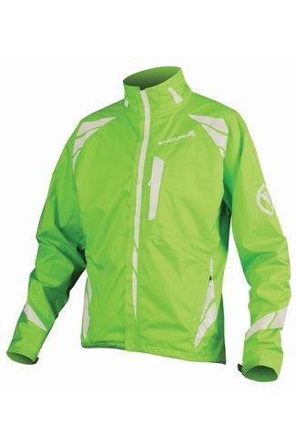 Endura Luminite II Waterproof Jacket Green HiViz £55 L or XL only £55 @ cyclesurgery [ rrp £89.99