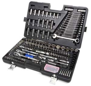 Halfords Advanced Professional 200 Piece Socket & Ratchet Spanner Set Hand Tools