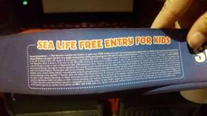 Free Sealife ticket and Finding Dory sticker book in Odeon