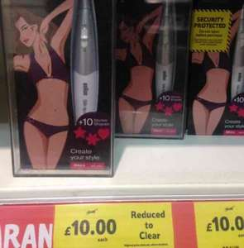 BRAUN silk-epil Bikini styler £10 tesco in store (Chelmsfords)