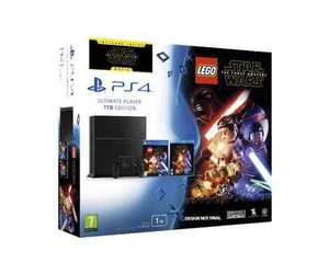 1tb PS4 - with free dual shock, Overwatch, Minecraft story mode, Lego force awakens, force awakens Blu Ray @ £325 Tesco Direct