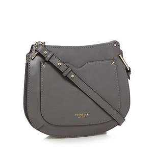 Fiorelli Boston crossbody bag in grey colour - £15 with code from newsletter email and free delivery. Runaway Ac