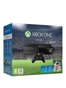 Xbox one 500gb with Fifa 16 and Jurassic world Lego + 1 month EA Access @ very for £199.99