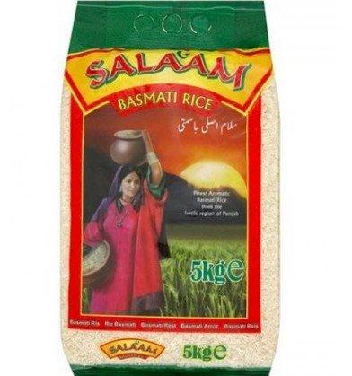 Salaam Basmati rice 5kg £2 instore @ Asda