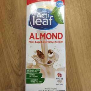 Almond milk @ Aldi only 99p
