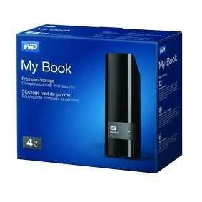 WD My Book 4TB USB 3.0 (Recertified)  £74.99 @ Western Digital