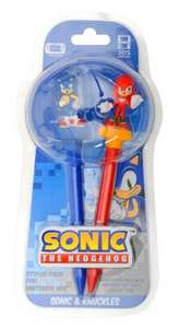 Sonic The Hedgehog 3D Stylus Twin Pack - Sonic & Knuckles (Wii U/ 3DS XL/ 3DS) £1.00 @ Poundland In Store