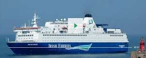 Irish ferries Car +2 from £99 and Kids go free