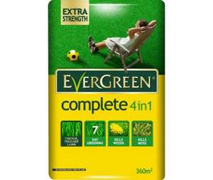 Evergreen complete 4 in 1 lawnfeed 400m2 for £7 @ Tesco - Beeston