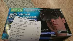 iTech VR 3D Virtual Reality Headset £5 @ Poundland