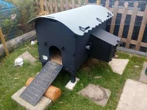 SOLWAY RECYCLED PLASTIC CHICKEN COOP £190 DELIVERED @ Solway Recycling