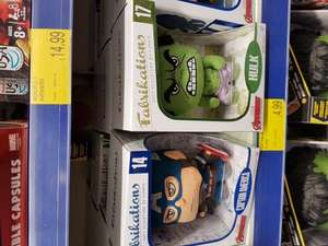 Funko pop Fabrikations £4.99 @ B&M (captain America & Hulk)
