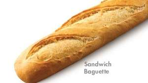 "12"" Freshly baked Sandwich Baguettes only 19p @ Lidl."