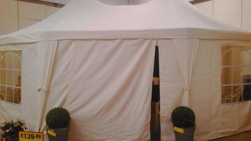 6.8m x 5m Festival tent/marquee  £167.99 @ makro, preston