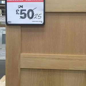 4 panel shaker oak door B&Q £25 Coventry