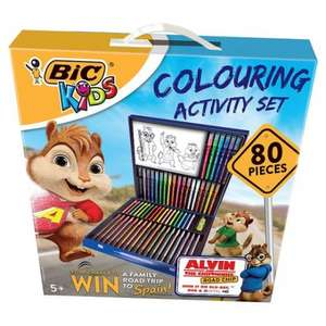 Bic Kids 80Pc Set Colouring Activity / Staedtler Stationery Collection Bulk 36 Pack - Was £22 Now £8 @ Tesco