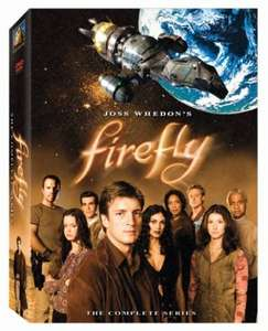 Firefly - The Complete Series [DVD] £2.60 delivered (Used but V Good condition) from OnlineMusicFilmsGames via Amazon