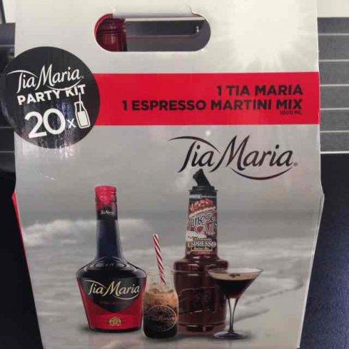 Tia Maria party pack £18 Asda instore