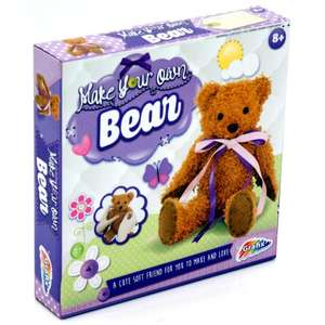 Make Your Own Bear at Netpricedirect for £3.50 + £1.99 delivery