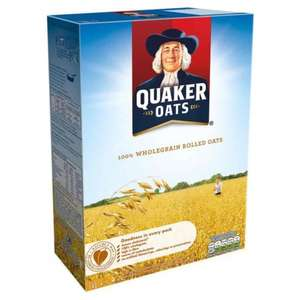 Quaker porridge oats 2X1.5 KG £2.39 @ Costco