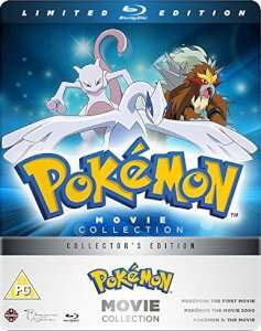 Pokemon movie Collection blu-ray Steelbook £22.99 at Zavvi