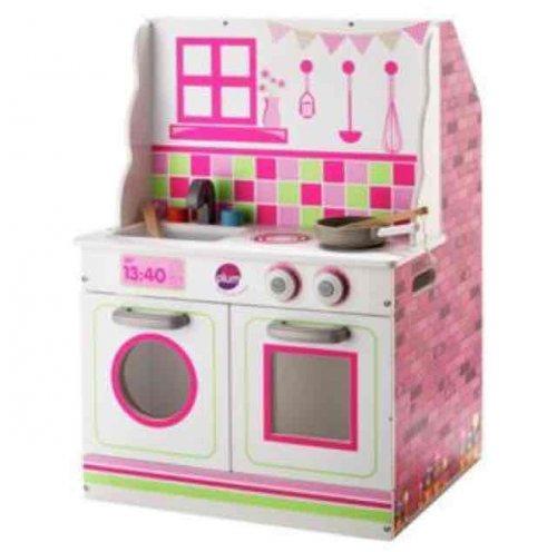 Argos Chad Valley 2-in-1 Wooden Dolls House and Kitchen Playset  £24.99 @ Argos