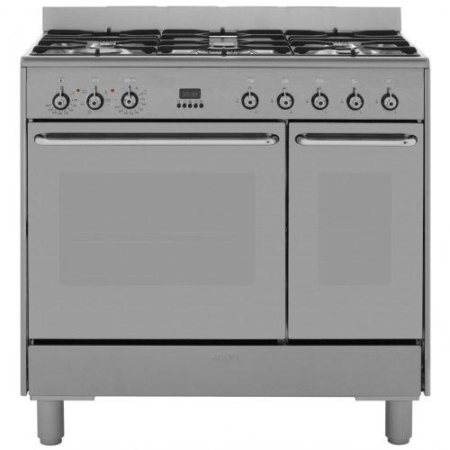 Smeg CG92X9 90cm Dual Fuel Range Cooker + £100 Ocado Voucher and Free delivery - £789.00 @ AO (Using Discount code)