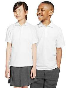 Easy Dressing School Uniforms - autism-friendly - Polo shirts from £5.00, Joggers from £7.00 @ M&S