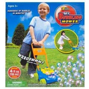 Kids bubble mower was £8 now £2 instore @ asda