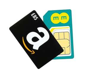 EE SIMO - 16GB 4G Double speed / Unlimited Mins & Texts + £85 Amazon Voucher £19.99pm [12 Months] @ EE (Total £239.88 + £85 Amazon Voucher)