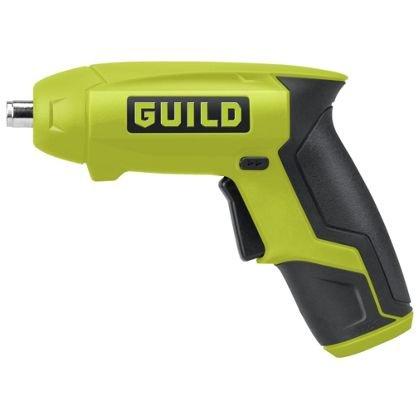 GUILD Cordless Screwdriver - 3.6v  £8.99 @ Homebase - free c&c