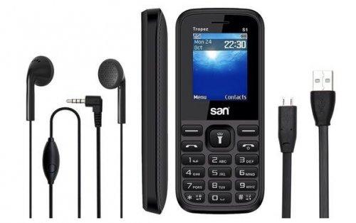 MobyMemory - SAN Tropez S1 Sim Free Mobile Phone £14.99