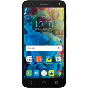 Free return flights to Europe with £89.99 Alcatel POP 4 UK SIM-Free Smartphone at Amazon