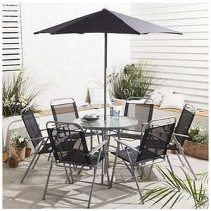 Hawaii Garden Furniture Set, 8 piece £65  + £7.95 delivery @ Tesco