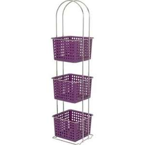 ColourMatch Chrome 3 Drawer Caddy - Purple Fizz. £5.99 Argos