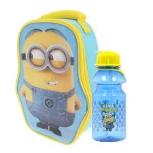 Minions Dave Shaped Lunch Bag £2.69 / Minions Bag Plus Bottle £4.49 (Using code) @ Internet Gift Store