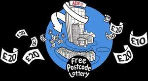 Free Postcode Lottery - Win Cash Every Day for FREE! ** NO referrals pls **
