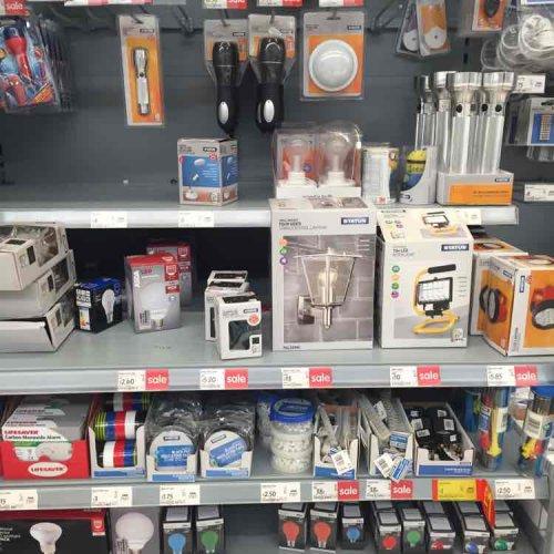 Asda - lighting clearance instore (Sinfin, Derby)