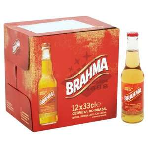 Brahma 12 x 330ml Bottles £6 @ Morrisons