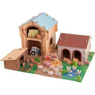 Chad Valley Wooden 50 Piece Farm Set now £19.99 @ Argos