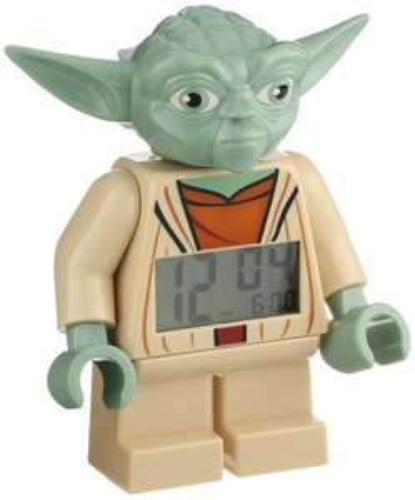 LEGO Clone Wars Yoda Minifigure Clock @ Amazon £14.99 (PRIME) / £18.98 (Non Prime)