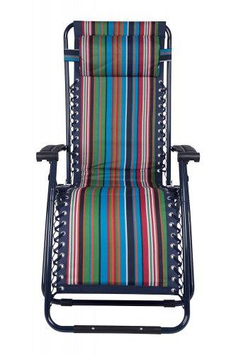Reclining Garden Chair / lounger £29.99 - free c&c / £4.50 del @ Mountain Warehouse