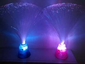 Star Wars / Peppa Pig Fibre Colour Changing Optic Lamp £1.99 @ B&M
