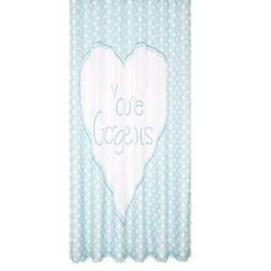 Large Polka Dots Shower Curtain - Blue was £12.99 now £2.99 @ Argos