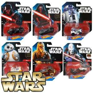 ASSORTED STAR WARS HOT WHEELS CARS AND SHIPS AT HOME BARGAINS STARTING FROM £1.99